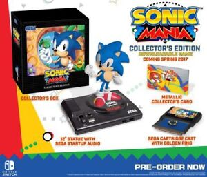 Buying: Sonic Mania Collector's Edition