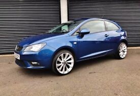 2013 SEAT IBIZA 1.4 SE BLUE 3 DOOR COUPE FINANCE AVAILABLE POLO