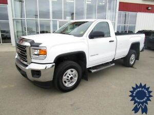 2016 GMC Sierra 2500HD Regular Cab 4X4 Long Box 8' w/17,407 KMs