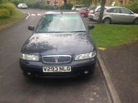 rover 400 for sale low mileage lots of service history