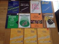 Flute books ranging from grades 1-8