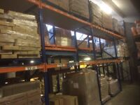Warehouse, Storage, Pallet Racking, Shelving, and Boards.