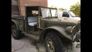 ! Super cool army truck! Working condition
