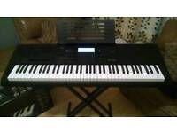 Casio WK7600 Keyboard ...as new condition with box, manual and extras