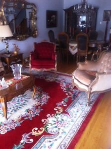 Antique Living Room Furniture Set From Paris