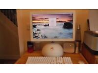 Retro Apple iMac computer
