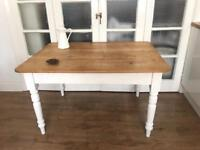 ANTIQUE PINE TABLE RUSTIC FREE DELIVERY LDN🇬🇧