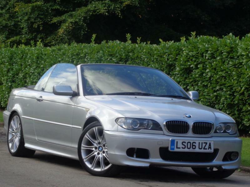 2006 BMW 320 2.2 Ci M Sport***£3000 WORTH OF INVOICES + CONVERTIBLE***