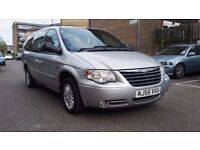 2005 CHRYSLER GRAND VOYAGER 2.8 CRD DIESEL AUTOMATIC 7 SEATER LONG MOT FULL SERVICE HISTORY