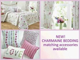 CHARMAINE BEDDING AND DUVET COVERS