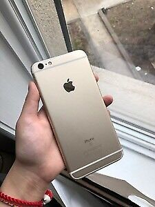 Apple I phone 6- gold -64  gb