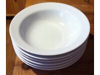 Marks & Spencer Maxim White Bowls and Side Plate Set