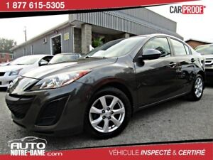Mazda MAZDA3 4dr Sdn GS TOIT MAGS ** NOUVEL ARRIVAGE **  2011