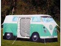 VW Green Campervan Tent