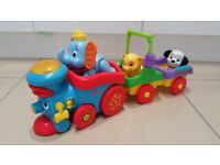 Fisher-Price Amazing Animals Disney Sing-along Choo Choo Train, in excellent as new condition