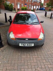 Ford Ka for sale, £450 Ono, fantastic first car for new driver, 10months MOT.