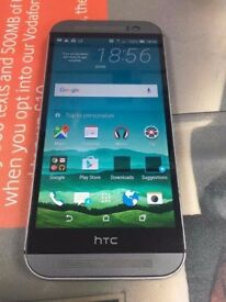 HTC ONE M8 16GB GUNMETAL GREY MOBILE PHONE- UNLOCKED