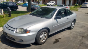 2005 Chevrolet Cavalier - Low KMs, Cars in perfect condition.