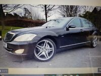 MERCEDES BENZ S CLASS 320 CDI VERY LOW MILES FULL SERVICE HISTORY 12 MONTHS MOT