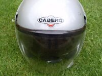 Caberg crash helmet pilot sunglass and clear visor fitted size 57/58 medium cost £189.