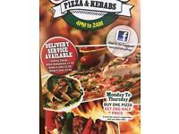 Pizza& kebab Take away shop
