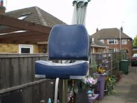 Marine Folding Boat Seat with Pedestal