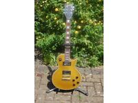 GOLD TOP ELECTRIC GUITAR