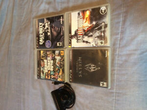PS3 Games and PlayStation eye Camera/Mic