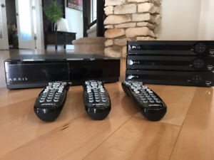 Arris PVR system with three digital boxes