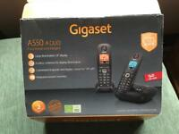 Cordless phone. Brand new. Gigaset A550