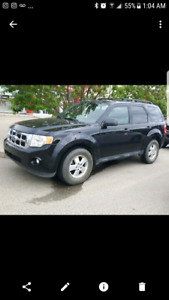 2009 escape 124000 leather fwd