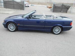 1998 BMW  328i Auto Convertible And Hard TUP  New Tiers