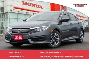 2016 Honda Civic LX (CVT)