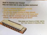 Harmonica lessons