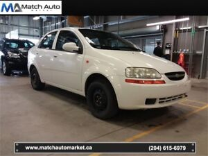 *Safetied* 2004 Chevrolet Aveo *Clean Title* LOW KM*