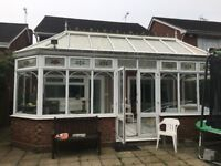 Upvc conservatory - 7m by 3.1 buyer would need to dismantle 25 years old