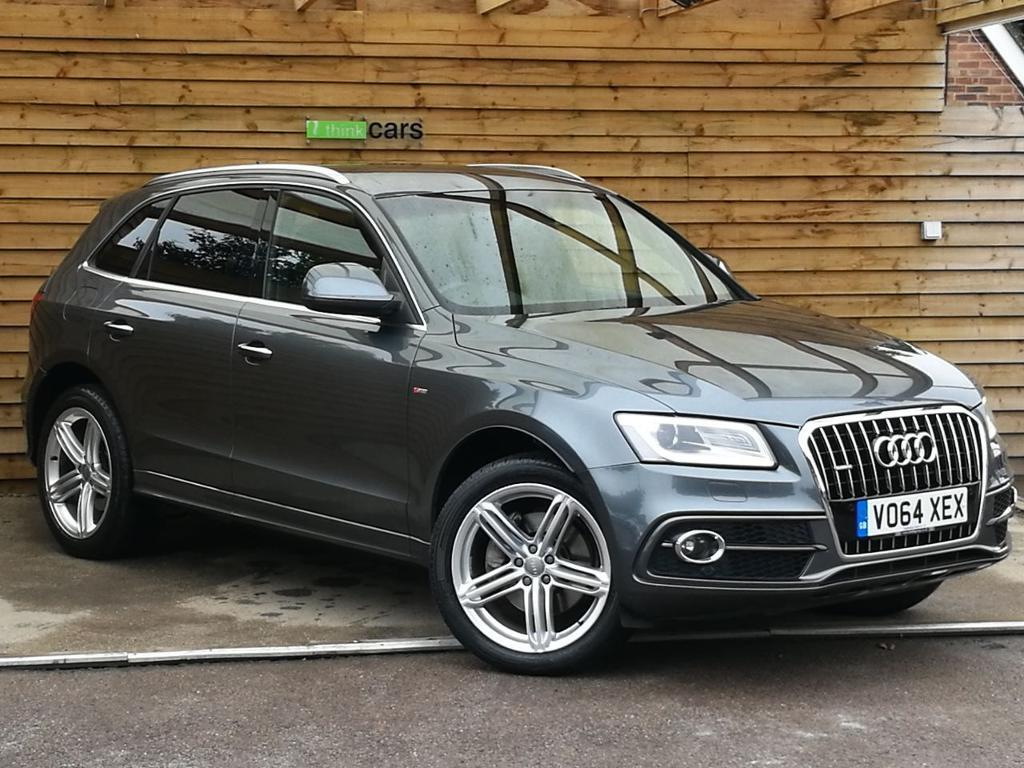 audi q5 3 0 tdi quattro s line plus 5dr s tronic great spec daytona grey pearlescent 2014 in. Black Bedroom Furniture Sets. Home Design Ideas