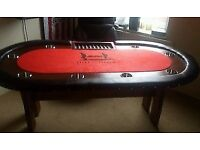"""Professional """"help for heros"""" poker table"""