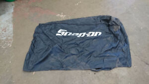 Snap on toolbox cover