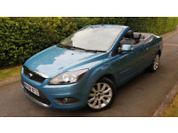 2008 FORD FOCUS CC 2.0 TDCi CC-3 CABRIOLET 2DR, 6 SPEED,VERY GOOD CONDITION,LOW MILEAGE