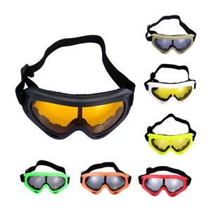 Skiing Snowboard Dust proof Anti-fog Glasses Motorcycle Goggles