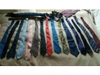 Vintage tie collection