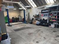 Garage/worshop to rent