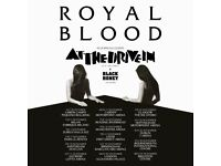 1x Royal Blood standing ticket, Motorpoint Arena Nottingham, Saturday 25th November 2017