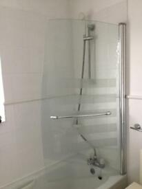 Bathroom and shower screen