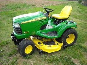 X720 John Deere Ultimate Series Garden Tractor
