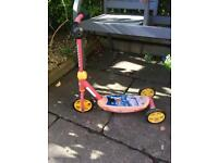 Free Lightning Mcqueen scooter
