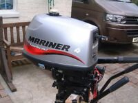 mariner 4 hp four stroke outboard boat engine