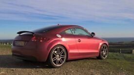 Audi TT 2.0 TFSI 3dr Rare Garnet Red plus Full Cream Leather