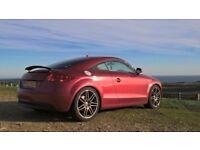 Audi TT 2.0 TFSI 3dr Rare Garnet Red plus Full Cream Leather